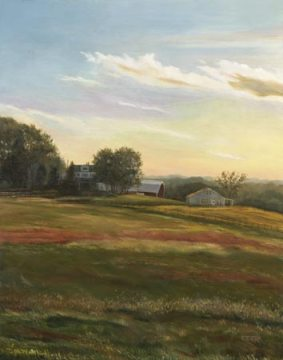 Sundown on Jennings Chapel