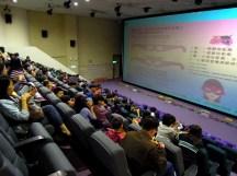 我們在立體劇場觀看 3D 影片,了解了翼手龍的飛行翼演化過程~