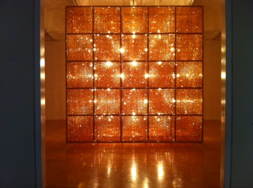"Don't miss ""Cube Light"" on the third floor, above the main area of the exhibit"