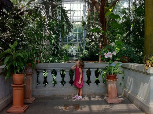The U.S. Botanic Garden, an inviting spot any time of year