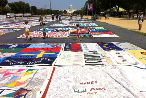 Last year's Festival spotlighted the 25th anniversary of The AIDS Memorial Quilt