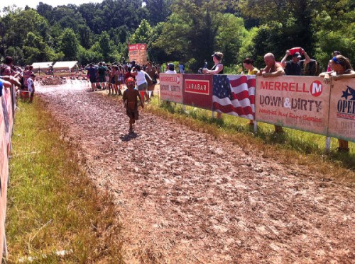 Good and muddy for the final stretch