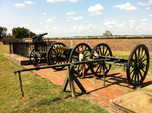 History on view at Fort Washington Park