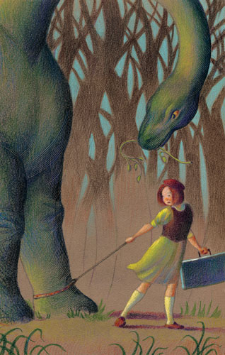 Catch Lulu and the Brontosaurus at Imagination Stage this fall