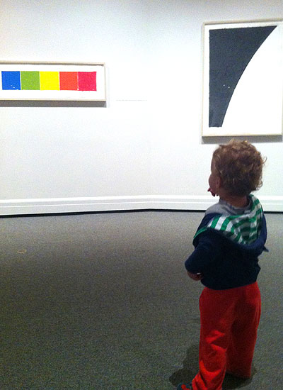 Even the littlest museum-goers can appreciate the art at the National Gallery