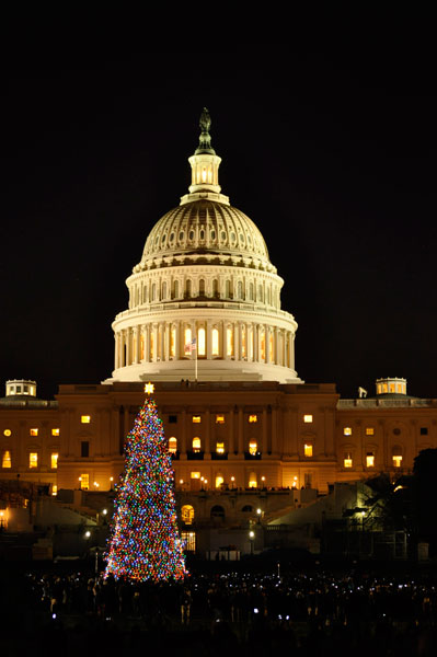See the Capitol Christmas Tree Lighting on December 3