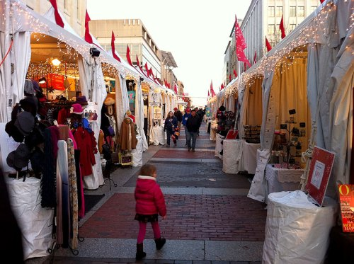 The Downtown Holiday Market in Penn Quarter