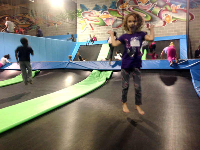 Jump and Play and Flip for Joy at Flight Trampoline Park
