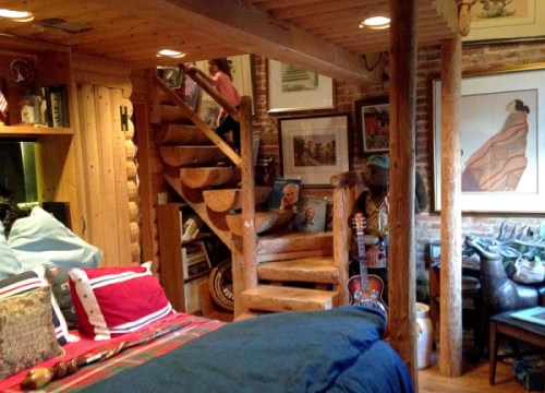 Exploring the two-level Log Cabin suite