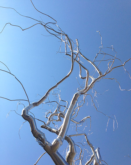 Winter tree or art at the National Gallery Sculpture Garden?