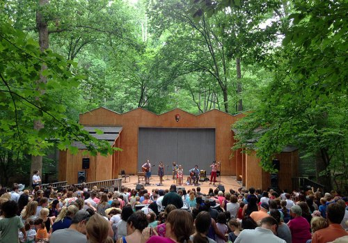 A setting as great as the entertainment at Children's Theatre in the Woods