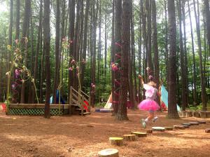 Flitting through the Fairy Lolly at Annmarie