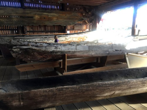 Dugout canoes and other old maritime craft