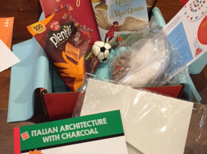 A box of Italy for kids!