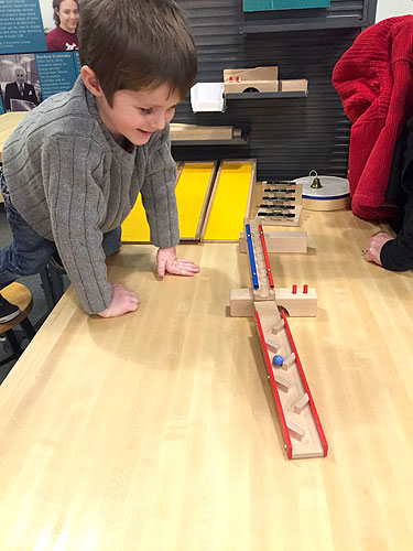 A little marble run fun in the Spark!Lab