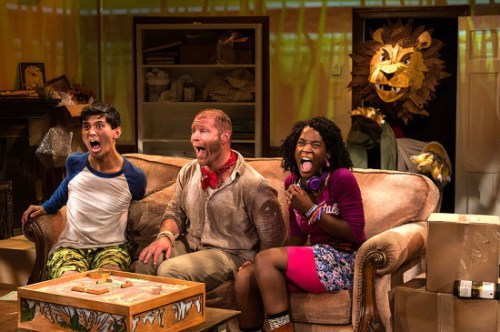 """""""Jumanji"""" will play on the Adventure Theatre stage all summer long"""
