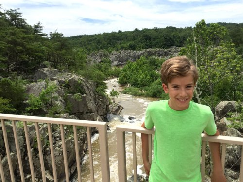 Enjoy nice trails, history, and some of the best natural scenery in the area at Great Falls Park
