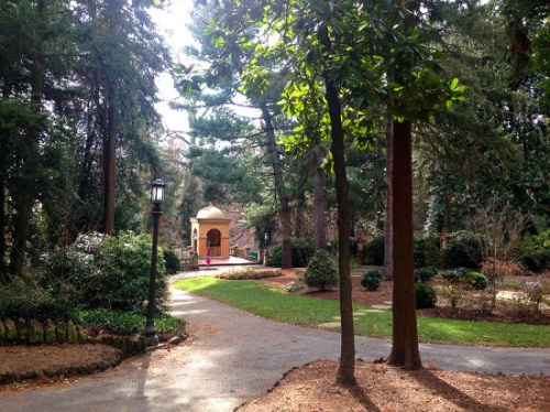 Roam around the Franciscan Monastery grounds in Brookland