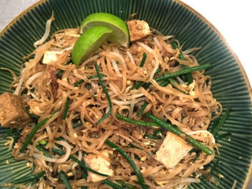 Tang-Thack Noodles - delicious and easy to make with GrandPa's Kit!