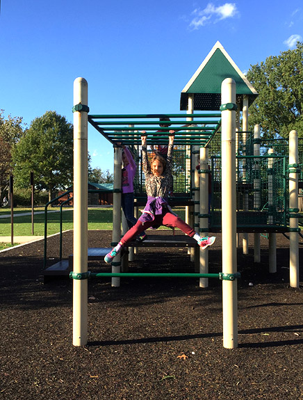 Hang out at Hains Point for playground fun -- and great riverside views