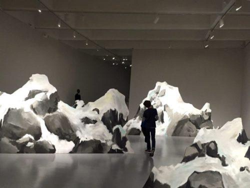 "Walk among ""icebergs"" at the Ragnar Kjartansson exhibit"