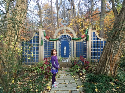 Dumbarton Oaks Gardens are free to roam from November to March