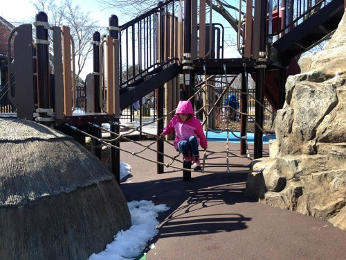 Playground fun in Palisades