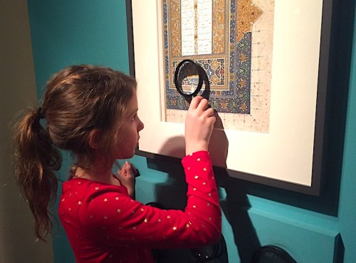 Exploring art at the Sackler Gallery