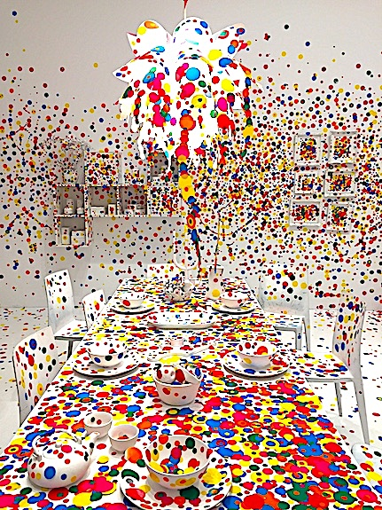 A feast for the eyes at Infinity Mirrors