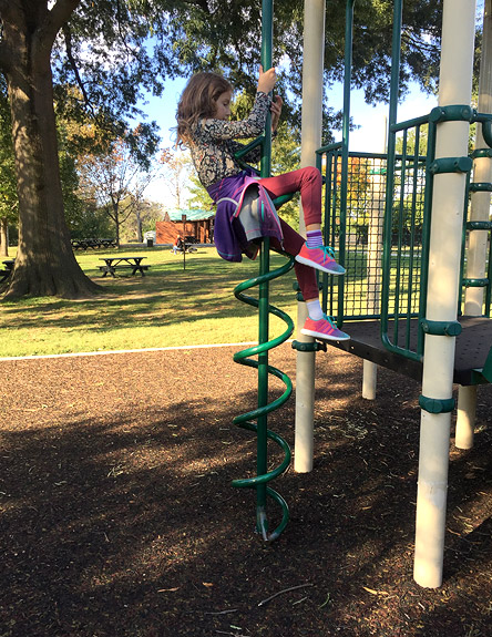 Hains Point has play options for all ages
