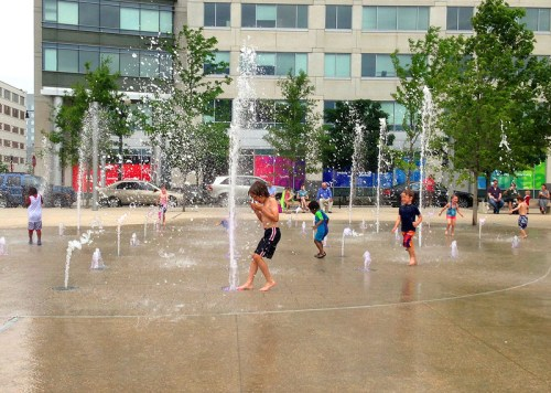 Spray fun at Canal Park, where a new kids' series kicks off this week!