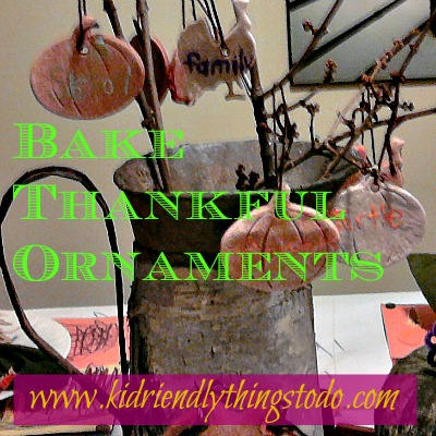 Thankful Tree Ornaments