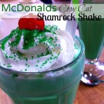 McDonald's Copy Cat Shamrock Shake. Done in 5 minutes. Why wait until you can go out - have one at home!