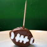 Chocolate Football Appetizerf For Dessert