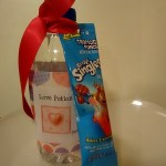 Make A Love Potion Valentine using Kool-Aid packet and Bottled Water
