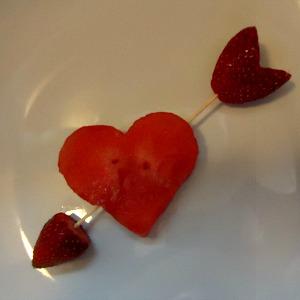 A Healthy Valentine Fun Food