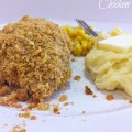 Recipe for Corn Flake Crusted Baked Chicken with Ranch and Buttermilk Coating - Wow, this reminds me of KFC extra crispy crust! Delicious!
