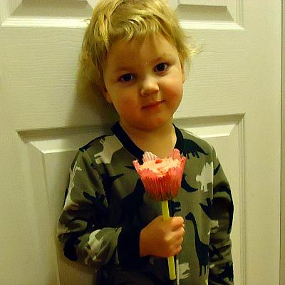 Flower Cupcake Bouquet