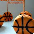 So cool and simple to do. Great for March Madness parties or basketball fans