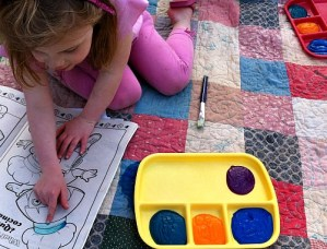 Kid Friendly Finger Paint Recipe