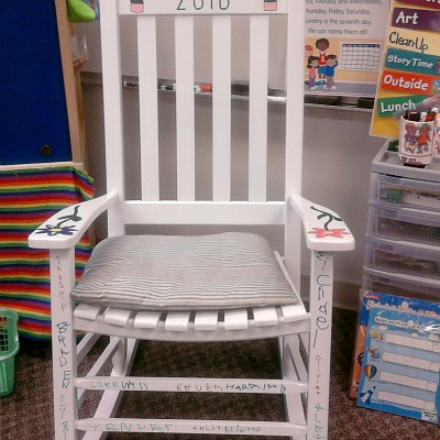 teacher rocking chair gaming reviews reddit a great gift from kids to parents or grandparents for teachers