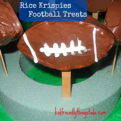 Football Rice Krispies