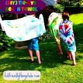 diy Tie-Dye Beach Towels
