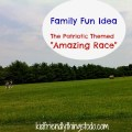 Patriotic Amazing Race Family Tradition Idea