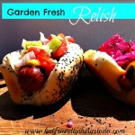 Garden Fresh Cucumber Relish