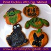 An Awesome Technique Using Egg Whites To Paint Sugar Cookies! The kids will have a blast with you!
