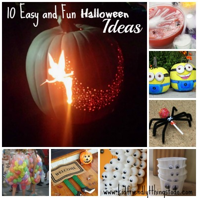 10 halloween crafts recipes and party ideas to inspire for Easy kid friendly halloween treats