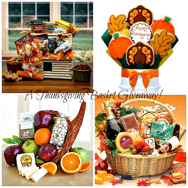 A Thanksgiving Gift Basket Giveaway