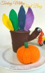 A Turkey Puppet Goody Bag! - A Fun & Adorable Thanksgiving Craft - A fun and simple craft for Thanksgiving! A paper cup filled with treats and covered with a turkey! Fun stuff! - KidFriendlyThingsToDo.com