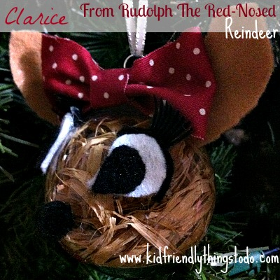 DIY Clarice From Rudolph The Red-Nosed Reindeer